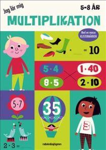 Jag lär mig multiplikation – pysselbok 5 – 8 år. Uppdragsgivare: Rabén & Sjögren. Uppdrag: projektledning, redaktörsjobb.