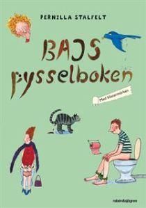 Bajspysselboken - pysselbok för barn. Uppdragsgivare: Rabén & Sjögren. Uppdrag: pyssel, projektledning, redaktörsjobb.