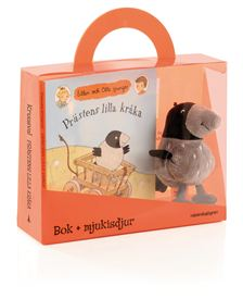 Prästens lilla kråka - bok + mjukisdjur. Uppdragsgivare: Rabén & Sjögren. Uppdrag: projektledning, redaktörsjobb.