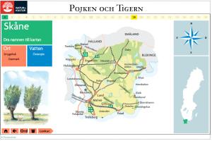 Sveriges landskap presenteras med de största orterna och intressanta länkar.