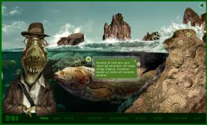 Dino - webbplats för åk 3.