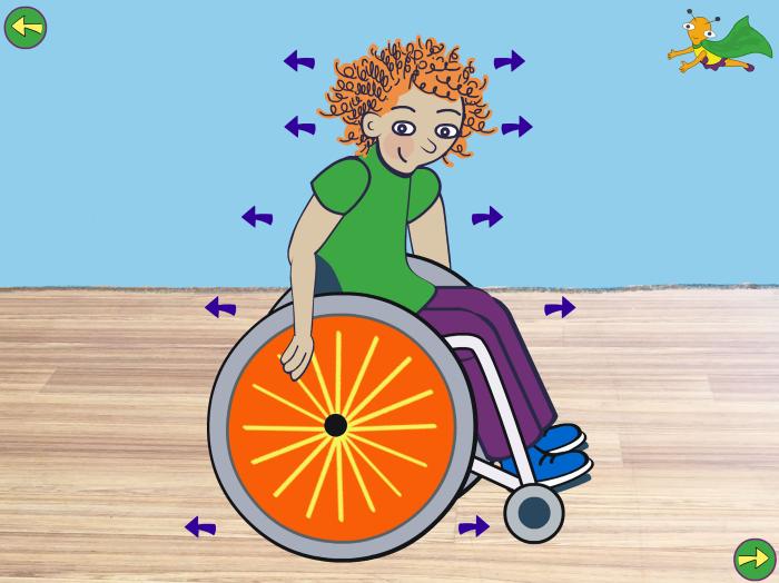 Undra 3.0 rullstolsträning
